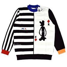 77fcdbcf NWT Palace JCDC Jean Charles de Castelbajac Logo Knit Stripe Sweater L  AUTHENTIC