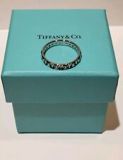 Tiffany&Co True Narrow Ring in 18K White Gold