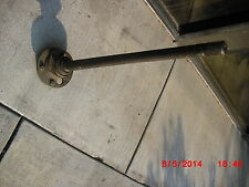 1957-58 Mercury & Edsel Citation 30 spline Driver's side axle shaft-Good Used