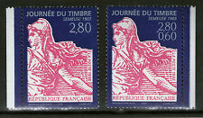 PAIRE TIMBRES 2990-2991 NEUF XX LUXE  P2991A - JOURNEE DU TIMBRE 1996 - SEMEUSE