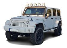 Jeep Wrangler JK (2007-2018) Scheinwerferbügel mit Teilegutachten Schwarz textur