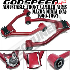 Godspeed AK-171-NA90 Adjustable Front Camber Arms W/ Ball Joints For Miata 90-97