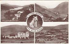 Postcard - Blair Atholl - A Wee Scotch Frae Blair Atholl - 4 Views