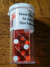 Caesar's Palace (Light Red) Las Vegas Casino Dice.