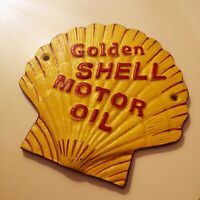 SHELL - Heavy Cast Iron Sign