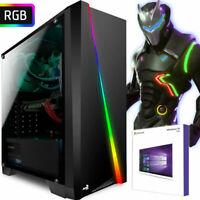 GAMER PC AMD FX™ 8800 8GB DDR4 240GB SSD Radeon R7 4K GRAFIK Windows 10 Computer