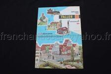 P245 Catalogue Train maquette Ho FALLER 1965 4 pages AUTO moto sport 4000 4007