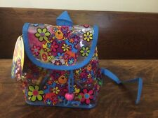 Lisa Frank Teddy Bear Backpack Packed With School Stuff - Unopened!!