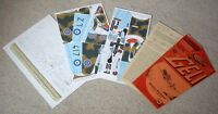 RAF Hawker Hurricane Fighter.  1980s Vintage GELI Austria Cut-Out Model Kit