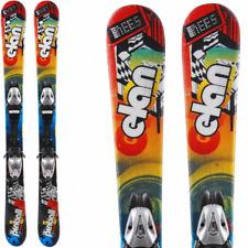 Ski occasion enfant ELAN Pinball Team +Fixations DESTOCKAGE skis junior pas cher