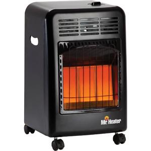 MR. HEATER 18,000 BTU Radiant Cabinet Propane Heater F227500  - 1 Each