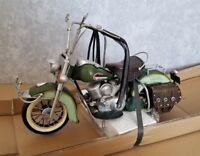 HARLEY DAVIDSON bike motorcycle tin toy tinplate car handmade vintage