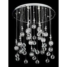 NEW Modern Crystal Pendant Hanging Light Ceiling Lighting Rain Drops Evrosvet