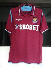 West Ham United home football shirt 2009 - 2010 size M Medium