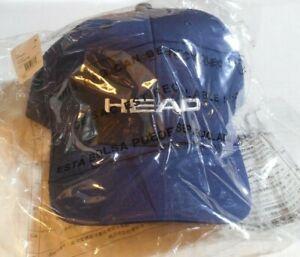 Head Sport Promotion Hat Cap Navy - Adjustable Size