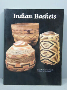 INDIAN BASKETS BY SARAH & WILLIAM TURNBAUGH NORTH AMERICAN ESKIMO CHEROKEE HUPA