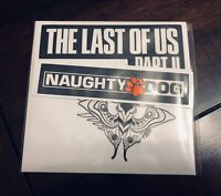 The Last Of Us Part II 2 Ellie Edition (Sticker Decal Set ONLY) Naughty Dog Sony