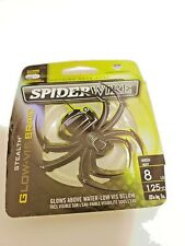 Spiderwire GLOW VIS BRAID GREEN 8 LBS 125 YDS NEW IN PACK