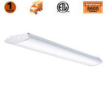 4Ft Led Light Fixtures Flush Mount Garage Shop Lights 50W 5600Lm 4000K