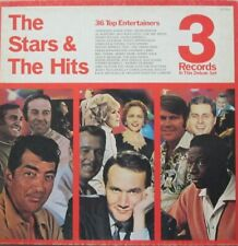 THE STARS & THE HITS - 36 TOP ENTERTAINERS  - 3 LP BOXSET (ORIGINAL INNERSLEEVES