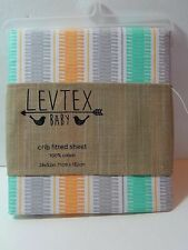 Levtex Baby Crib Fitted Sheet Cotton Standard