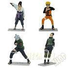Uchiha Sasuke Naruto Uzumaki Kakashi Hatake Nara Shikamaru PVC Figures NARUTO