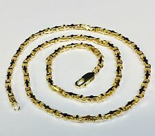 """10k Solid Yellow Gold Anchor Mariner Link Chain Necklace 3.1 MM  24 grams  24"""""""