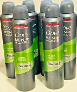 Dove Men Care  EXTRA FRESH 6 BIG Deodorant Spray Anti-Perspirant 250 ml