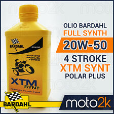 OLIO BARDAHL 100% SINTETICO 20W-50 20W50 4 STROKE XTM SYNT POLAR PLUS - 4 LITRI