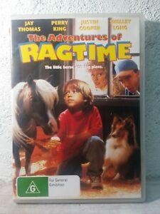 Ragtime DVD The Adventures of - 1998 RARE KIDS ANIMAL HORSE MOVIE ! - ALL Reg