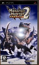 Monster Hunter Freedom 2. PSP. PlayStation Portable. No Manual Included.