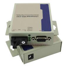 Industrial Bidirectional RS232 Interface Asynchronous Fiber MODEM SM Simplex DB9