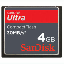 4GB SanDisk Ultra 30MB/S CompactFlash CF Memory Card f. Camera