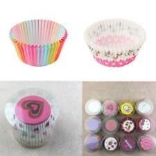 100Pcs Mini Paper Cake Cupcake Liner Case Wrapper Baking Muffin Wedding Party