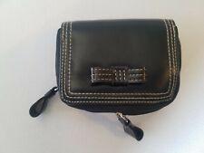 Buxton  - Accordion Wizzard Wallet  Black  New