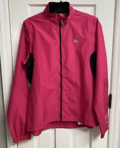 Pearl Izumi Select Women's Barrier Jacket Convertible Zip Sleeve Vest Sz XL