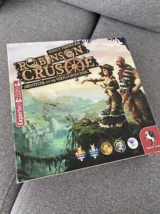 Robinson Crusoe Brettspiel - Sehr guter Zustand - Schneller Versand