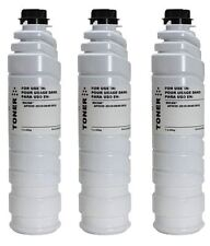 3 New Black Toner Cartridge Bottles Compatible to Ricoh 3110D 2035 2045