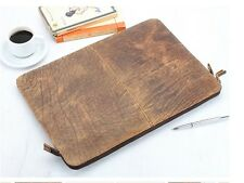 Leather Document Case Portfolio Holder ideal for Conference Meetings 15 inch