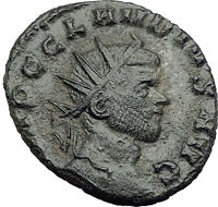 CLAUDIUS II Gothicus 268AD Rome Authentic Ancient Roman Coin Aequitas i63607