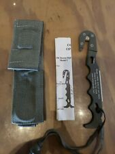 Military Ontario Knife OKC Model 1 Strap Cutter Escape Tool Sheath Made In USA