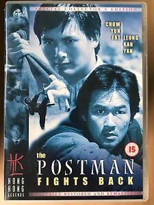 The Postman Fights Back DVD 1983 HKL Hong Kong Legends Classic w/ Chow Yun Fat