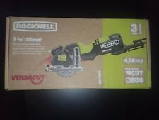 Rockwell RK3440K Versacut 4.0 Amp Ultra-Compact Circular Saw with Laser Guide an