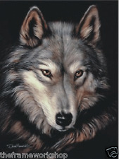 WOLF HEAD - 3D  MOVING PICTURE 300mm X 400mm (NEW)