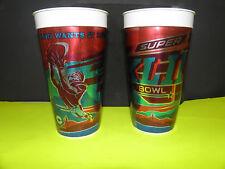 NFL-SUPER BOWL XLII-42 PATRIOTS-GIANTS METALLIC ALLUMINUM WRAP BEER CUP