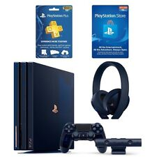 PlayStation 4 PS4 Pro 2TB 500 Million ULTIMATE BUNDLE w/ Headset, PS+, Gift Card