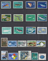 Japan 1966-1967 Commemorative Year Set of 57 Stamps - MNH UM Fresh*