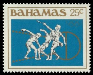 """BAHAMAS 560 (SG680) - Los Angeles Olympic Games """"Discus"""" (pf28665)"""