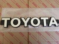 Toyota Land Cruiser FJ60 Front Grille Emblem NEW Genuine OEM Parts 1981-1987