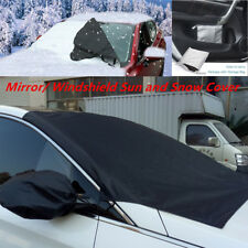 Auto Van Windshield Snow Sun Cover Ice Frost Removal Mirror Protector Universal